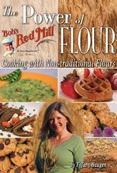 A fun book to inspire cooks to use a wide variety of flours to many types of dishes.  Some gluten-free recipes included.  The Power of Flour $19.95