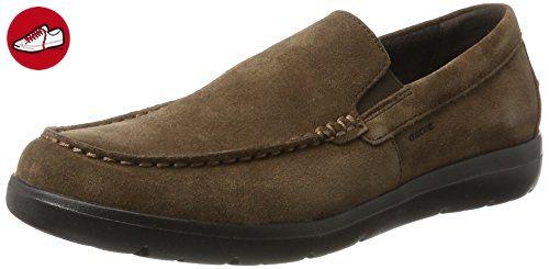 U Leitan C, Mocassins (Loafers) Homme, Marron (Ebony), 43.5 EUGeox