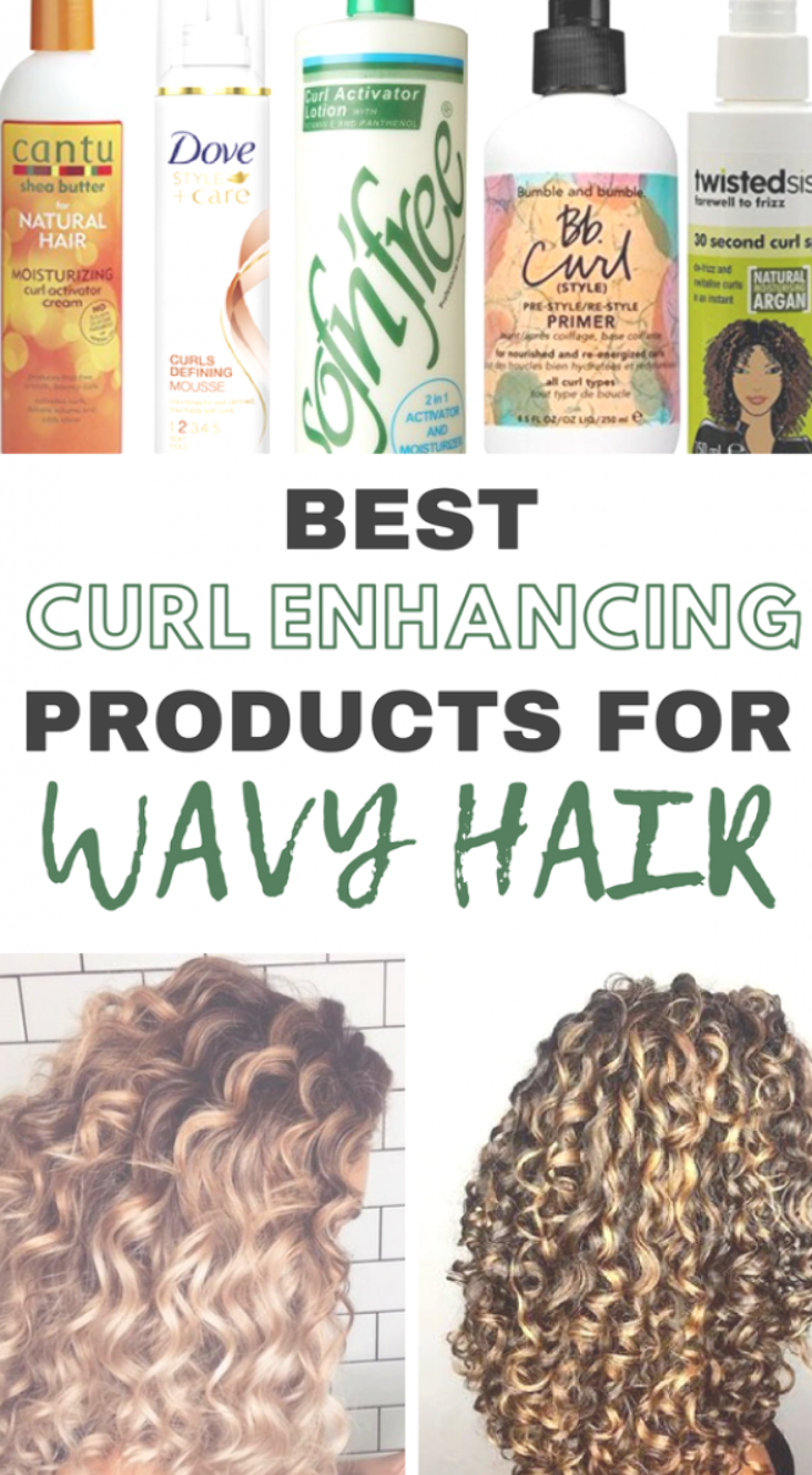 Best Products for defining your waves! curly wavy