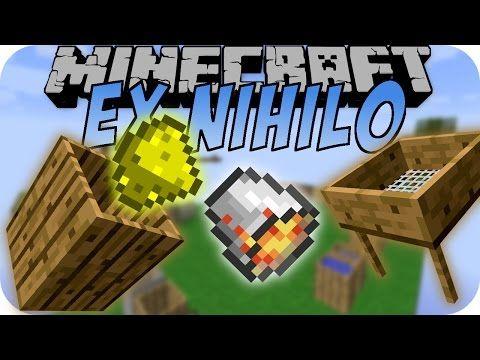 Minecraft EX NIHILO MOD (Kompost, Skyblock, Würmer) Deutsch - würmer in der küche