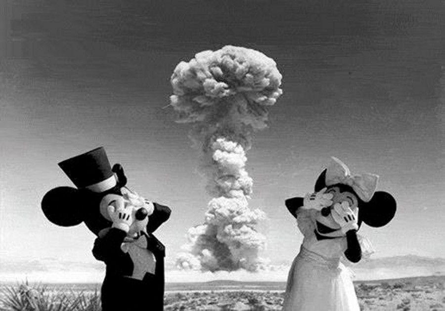Disney Mushroom Cloud