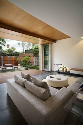 modern interior house design ideas narrow site layout | ☆ Home ...