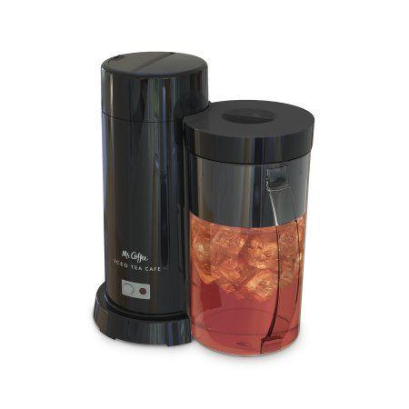 Mr. Coffee 2 Quart Black Iced Tea & Iced Coffee Maker in ...