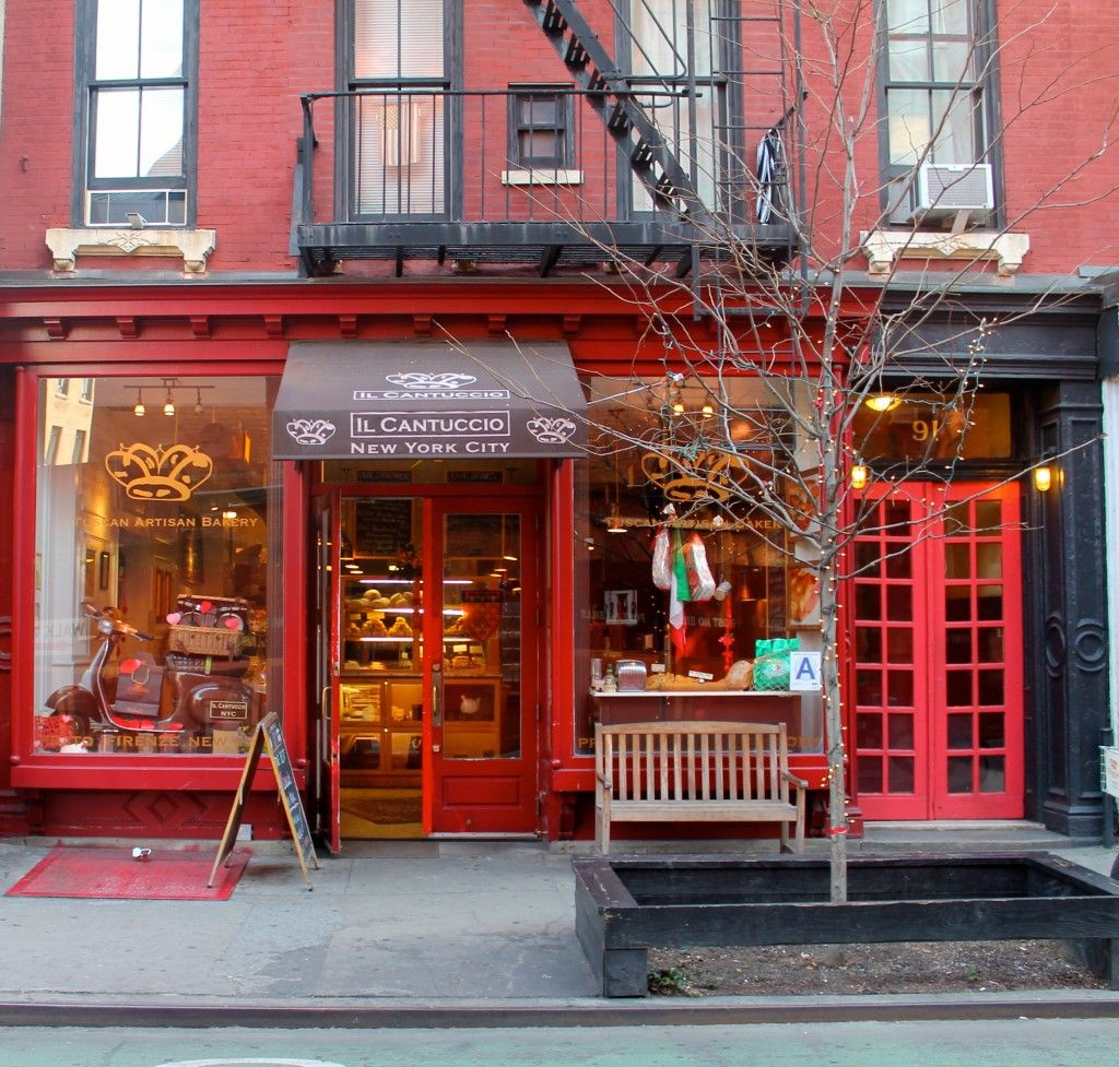 Il Cantuccio Restaurant New York New York Vacation Cake Shop Interior