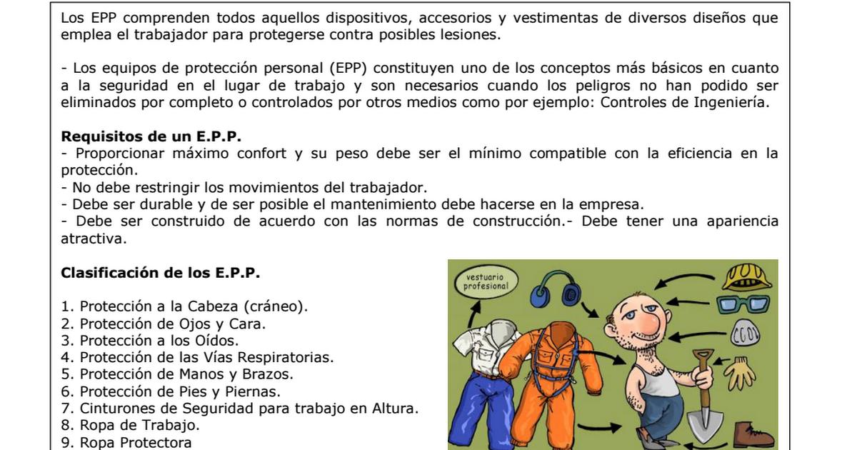 0b0416db2 CHARLA ¡EPP!.pdf | Seguridad industrial | Seguridad industrial ...