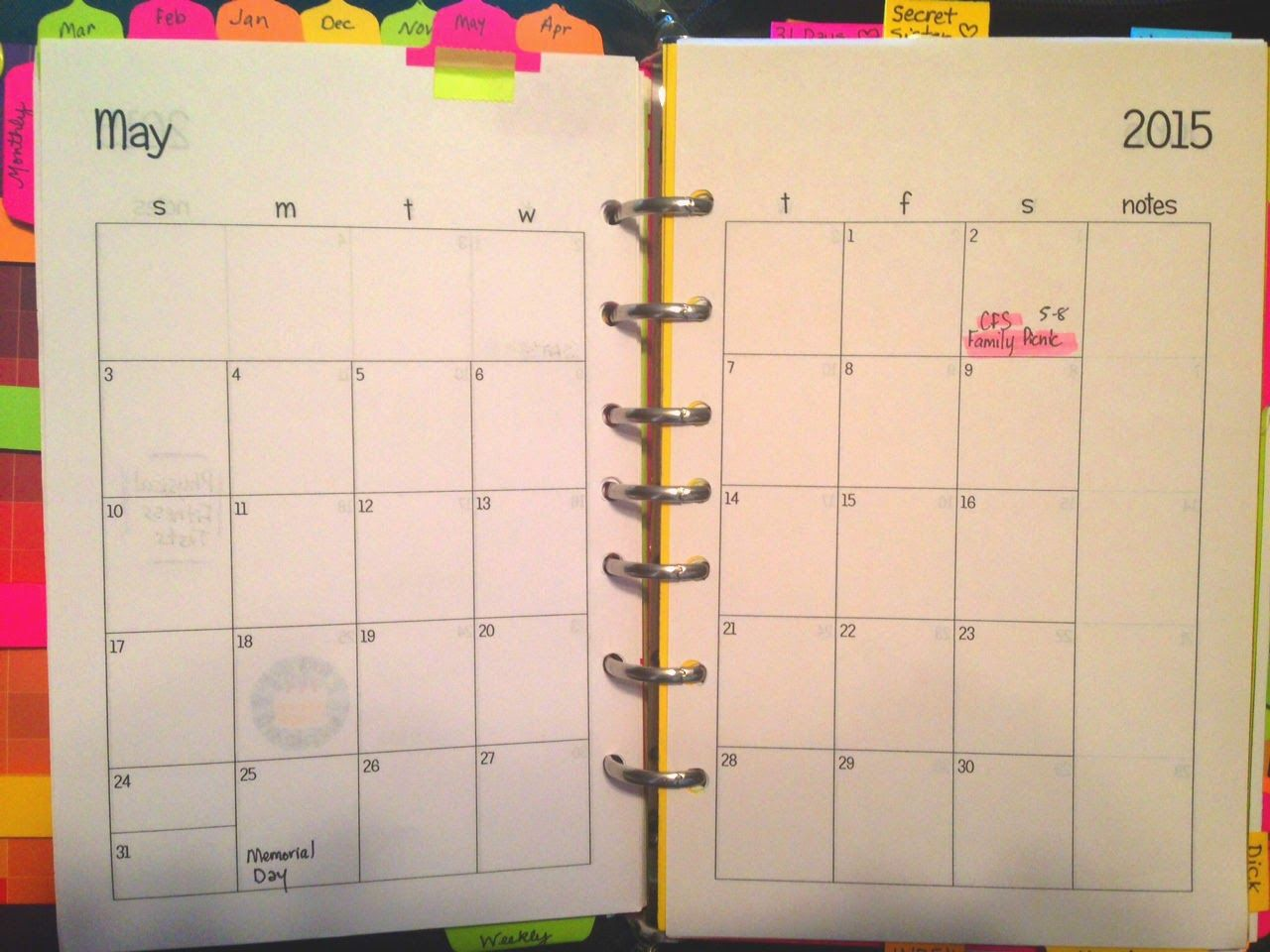 Becky Has These Free Two Page Per Month Free Printables On Her Blog Site They Are Plain So You