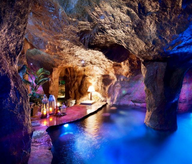 Indoor Cave Pool In Oklahoma City