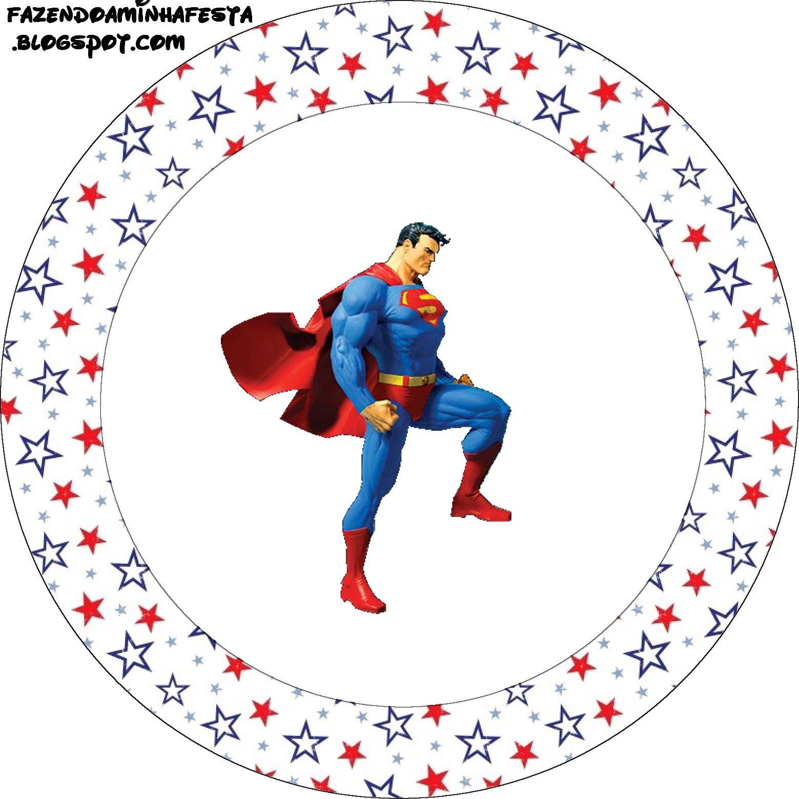 Ideas y material gratis para fiestas y celebraciones Oh My Fiesta!: Imprimibles de Superman 2.
