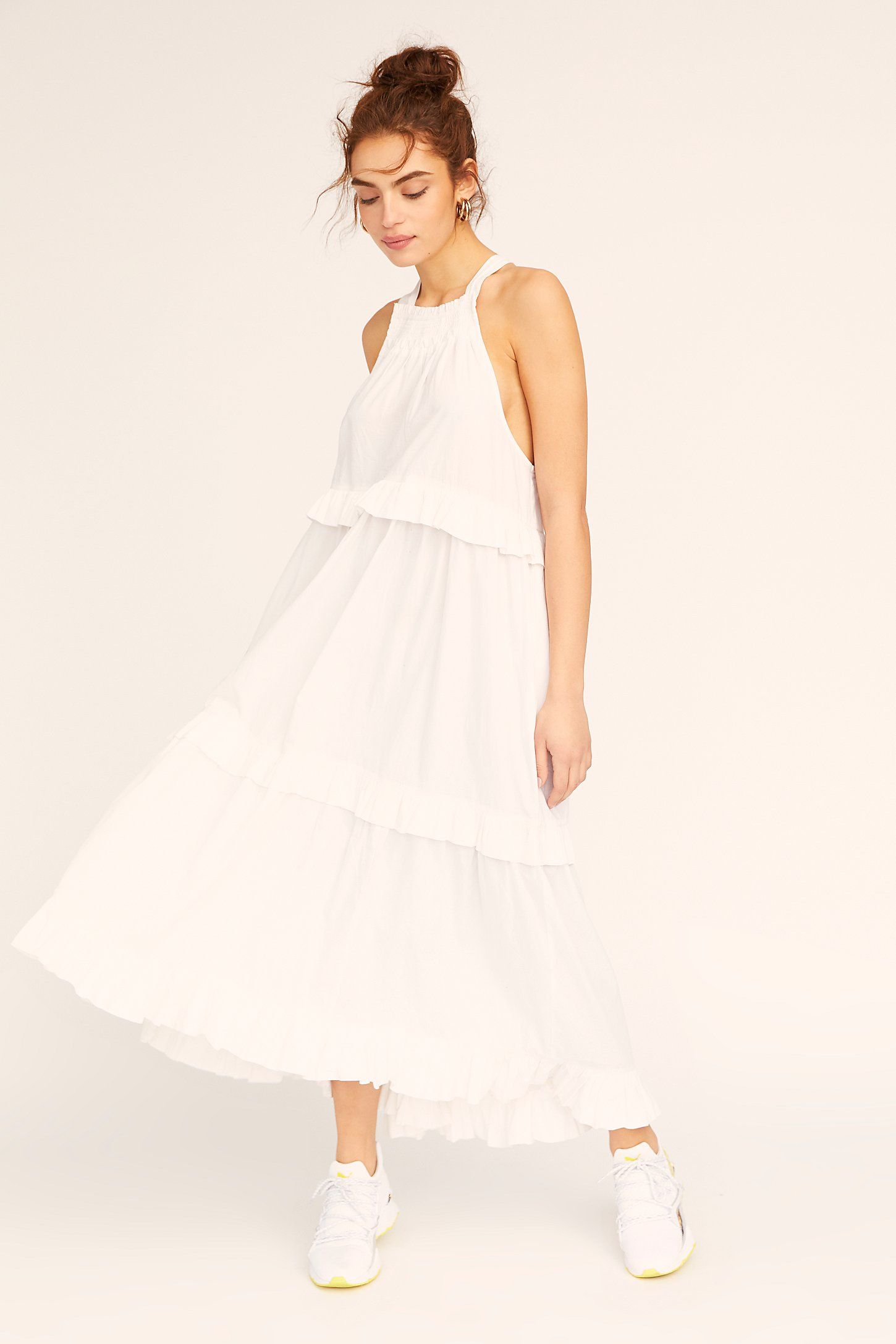 Anita Midi Dress Spring Maxi Dress Maxi Dress Cotton Dresses [ 2175 x 1450 Pixel ]