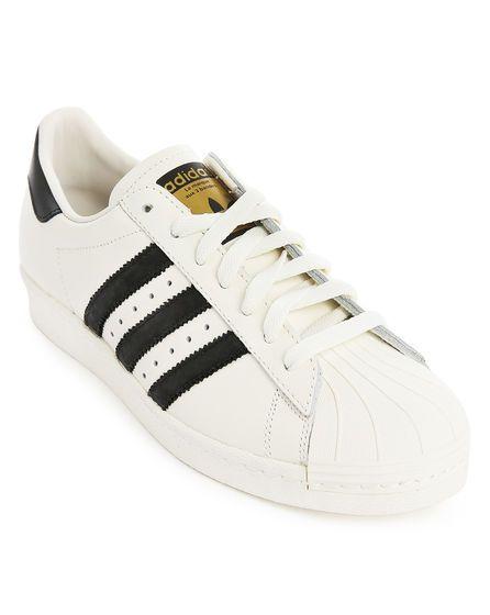 sélection premium ca3e7 097d5 Superstar 80S Dlx Blanche et Noir ADIDAS ORIGINALS | adidas ...