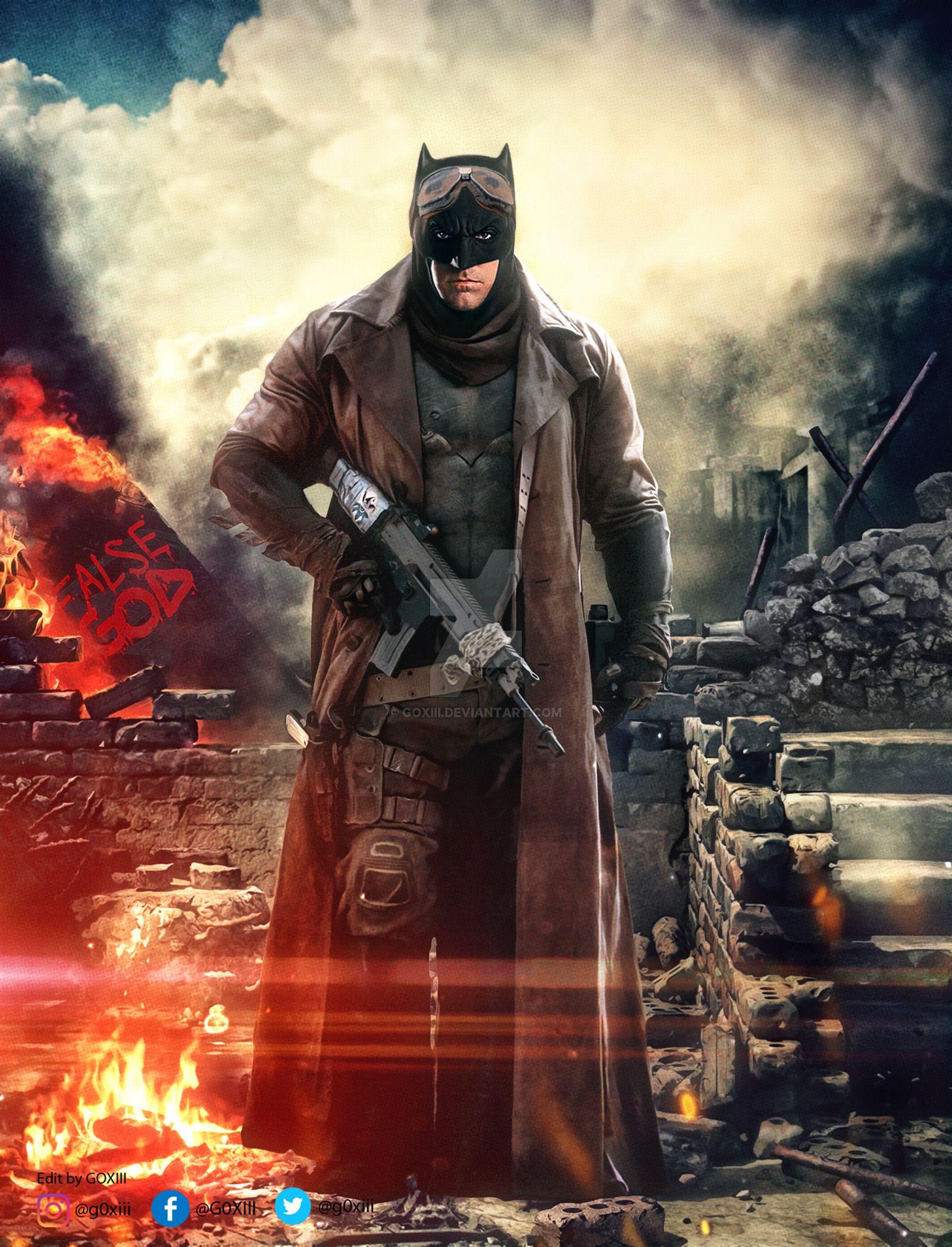 BvS: Knightmare Batman #batman #batmanvsuperman #benaffleck ...