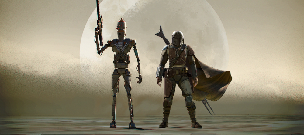 Concept Art From The Mandalorian Episode 1 Is Stunning Concept Art Art Mandalorian