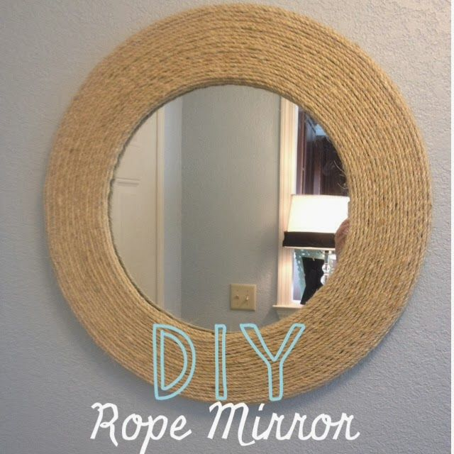 DIY Rope Mirror!  Darling Daly Design
