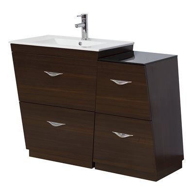 Picture Gallery Website Red Barrel Studio Halb Double Bathroom Vanity Set with Mirror Base Finish