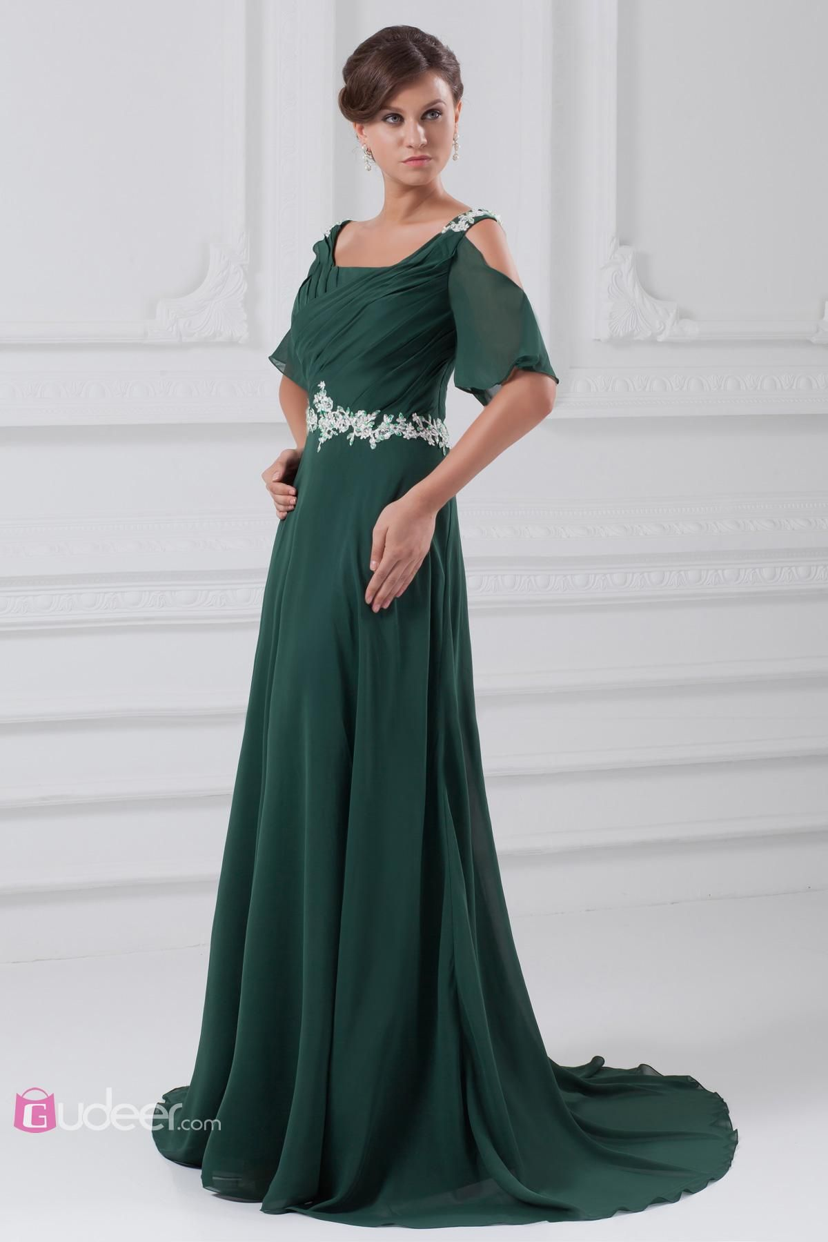 Dark green prom dress dark green offtheshoulder prom dress a