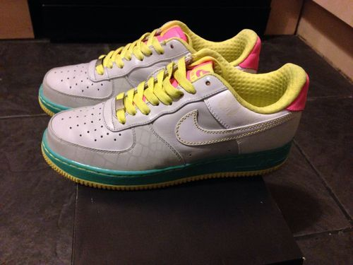 online store e021e 68f94 Nike Air Force One Supreme 25th Anniversary Vintage 2007 ...