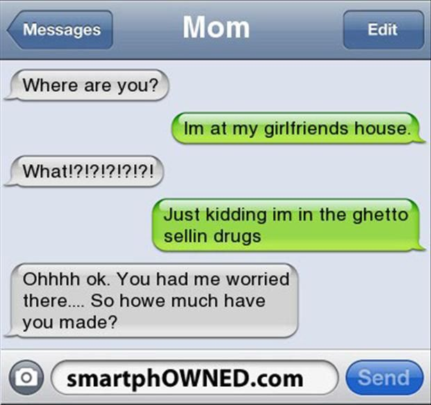 16 Of The Funniest Texts From Parents Ever