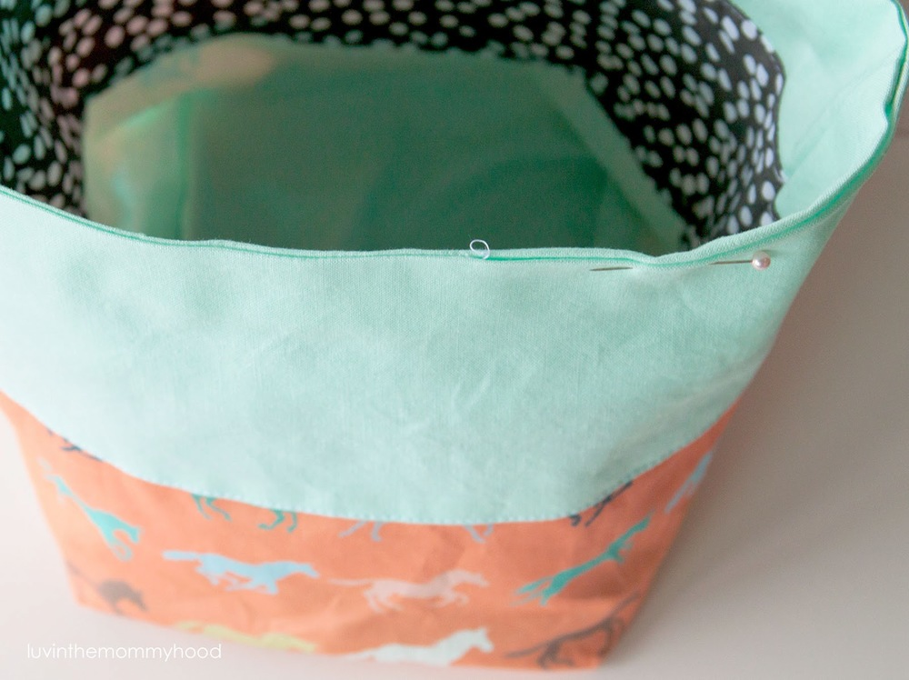FREE TUTORIAL || REVERSIBLE SOCK KNITTING PROJECT BAG ...