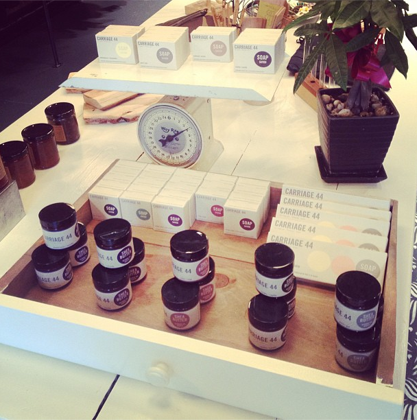 Great display of our products at the new General 54 store in Montreal