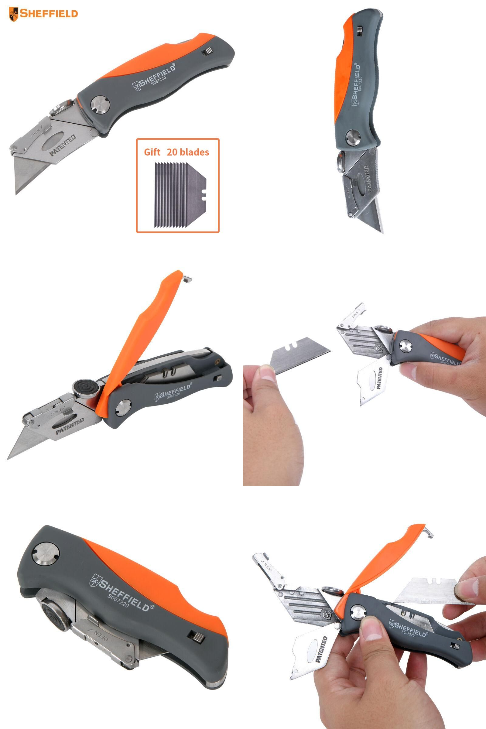 paper cutting tools. [visit to buy] sheffield folding knife paper cutter tool heavy duty utility multifunctional cutting tools