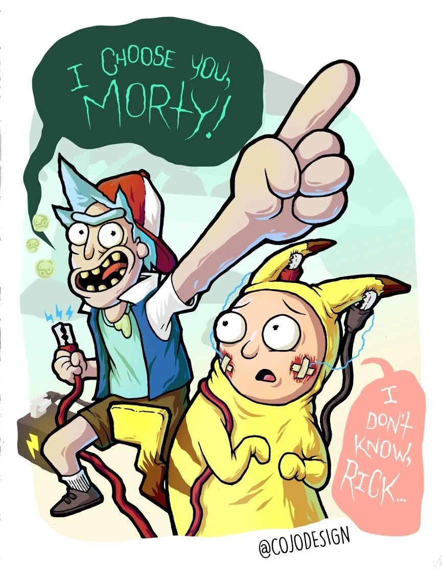 Rick and Morty pokemon