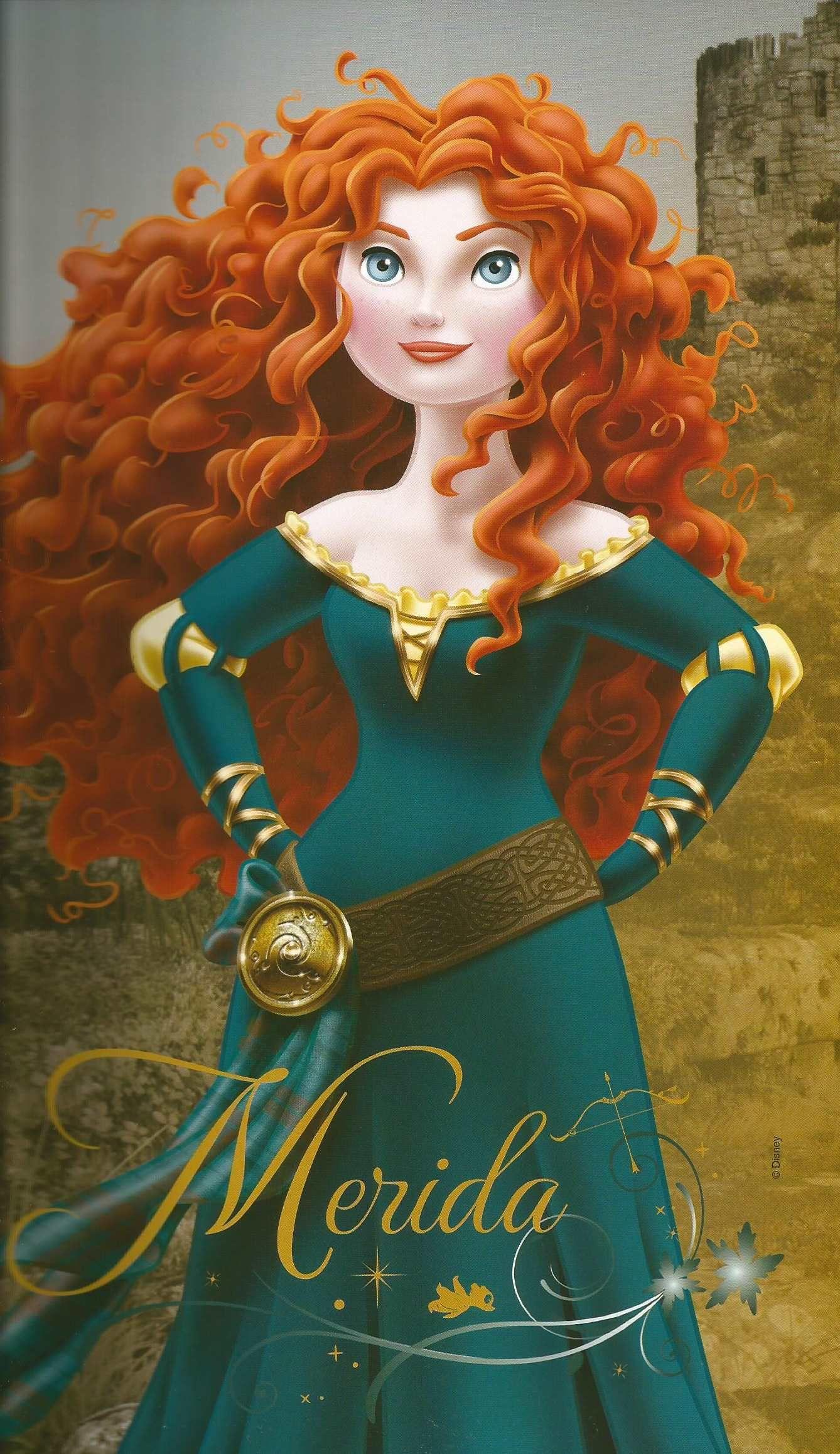 Картинки мериды принцессы