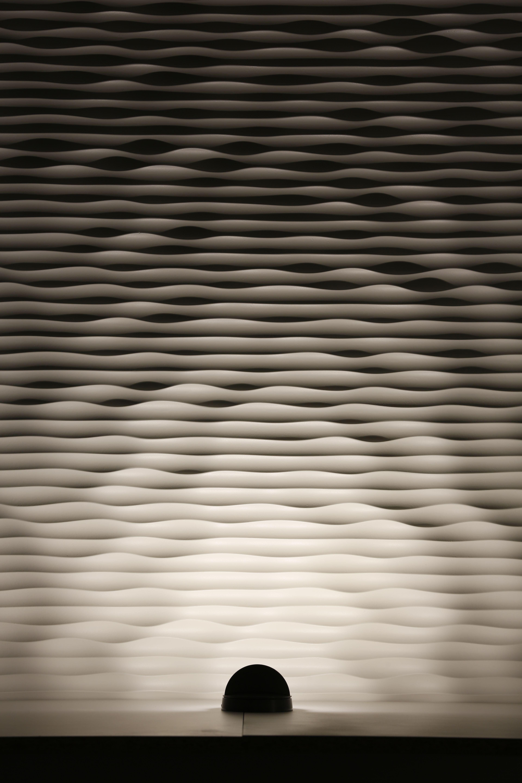 Exterior Wall Projected Light Textured Wall Iguzzini