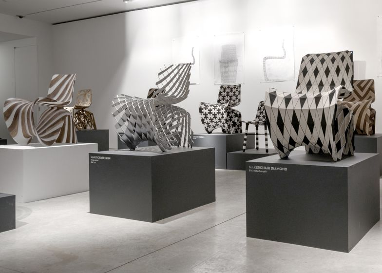 An exhibition by dutch designer joris laarman includes a blueprint an exhibition by dutch designer joris laarman includes a blueprint for a chair that can be malvernweather Choice Image