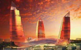 Azerbaycan Bakü'de muhteşem projeler