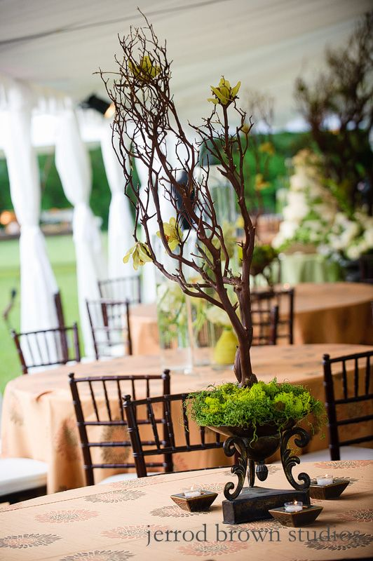 Reception flowers - Charmed Wedding Blog » A wedding blog with Southern charm.