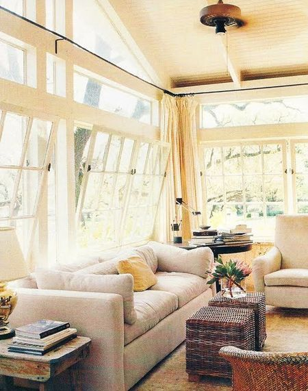 Cottage living - sunroom Outdoor Home Designs Pinterest