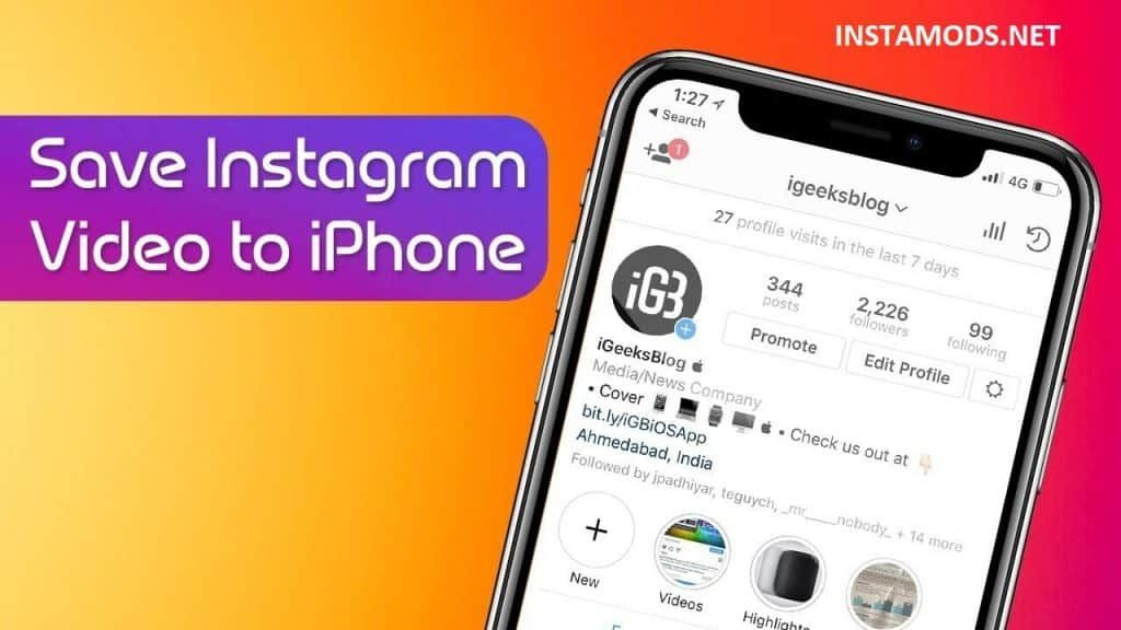 How to Download Instagram Videos on iPhone Without