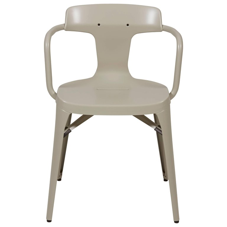 T14 Chair In Warm Grey By Patrick Norguet And Tolix Warm Grey Chair Chairs For Sale