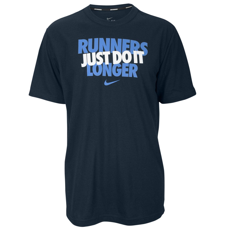 7e62a5de6c95 Nike Dri-FIT Cotton Graphic Running T-Shirt - Men s - Running - Clothing -  Grey Blue Yellow