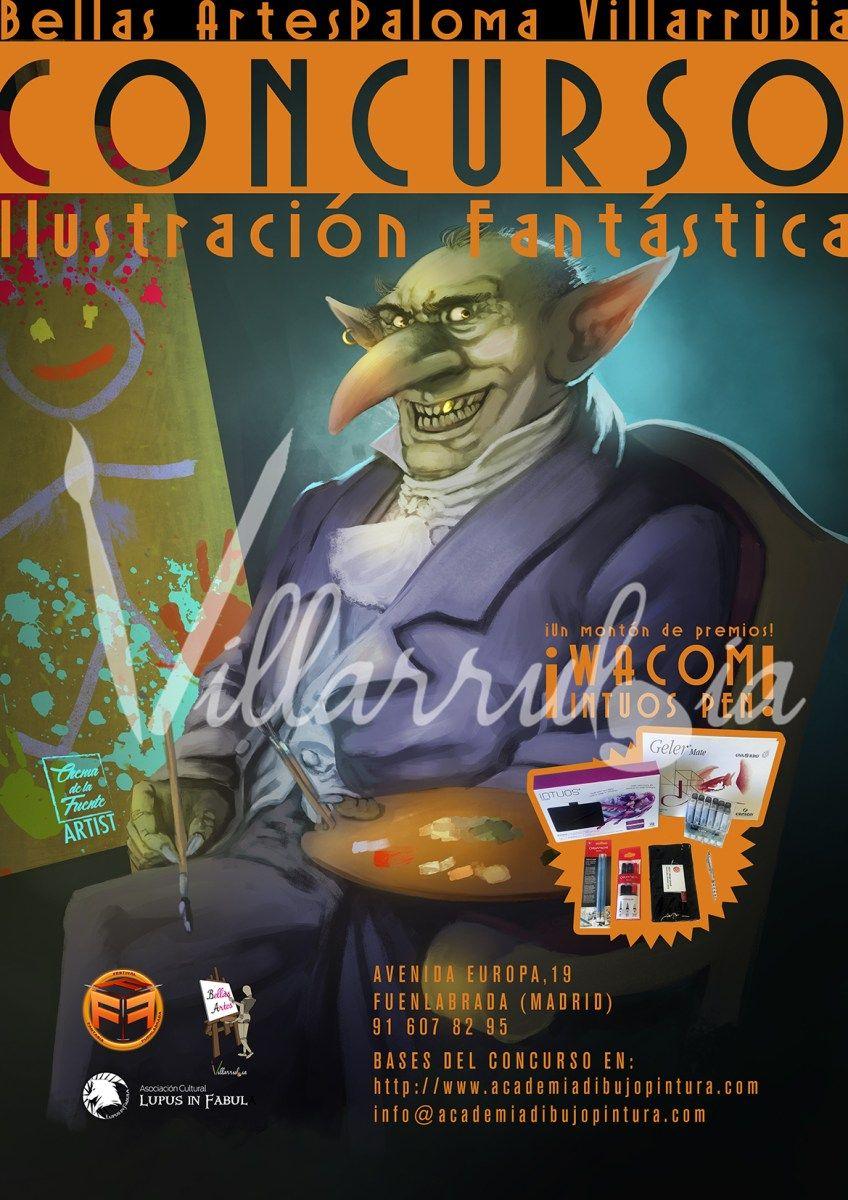Concurso de Ilustración ~ 1º Certamen FFF~