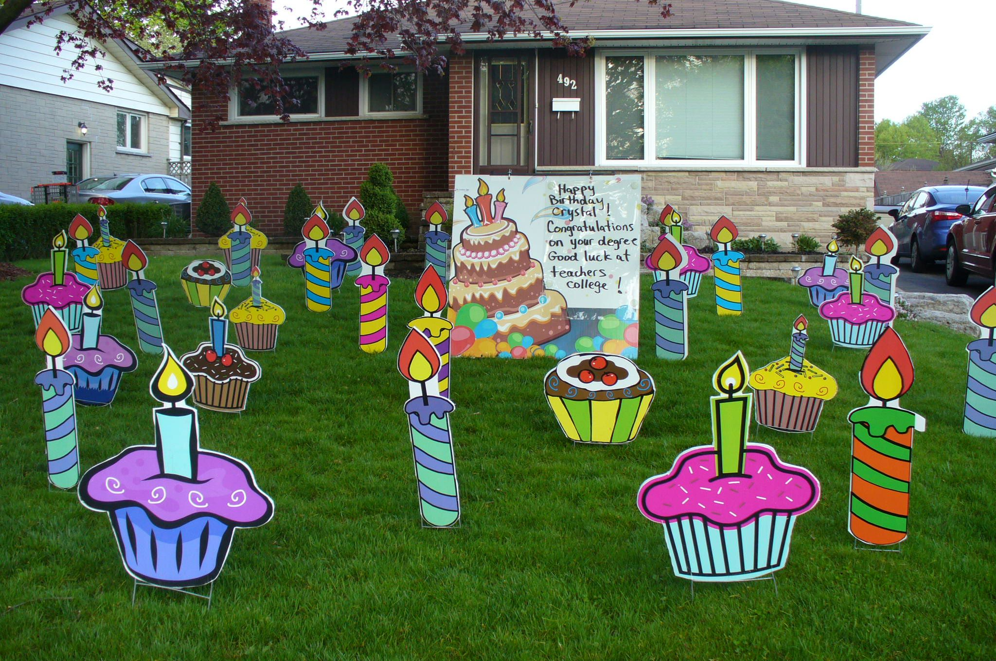 11+ Birthday Ideas  birthday, birthday lawn signs, lawn sign