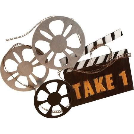 Old Time Movie Theater Decor Google Search With Images Metal Wall Art Decor Movie Wall Art Movie Reel Decor