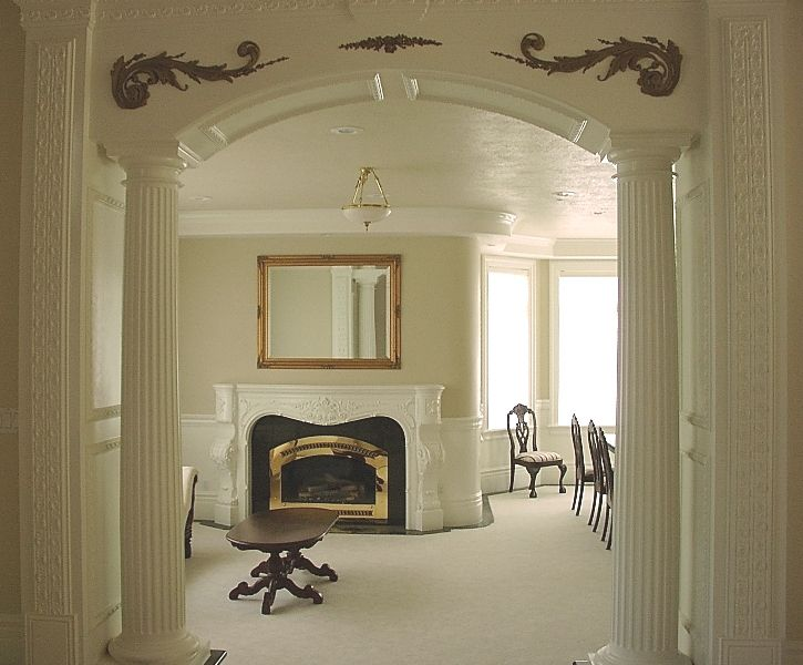 interior design columns - 1000+ images about einvent Your Home on Pinterest French ...