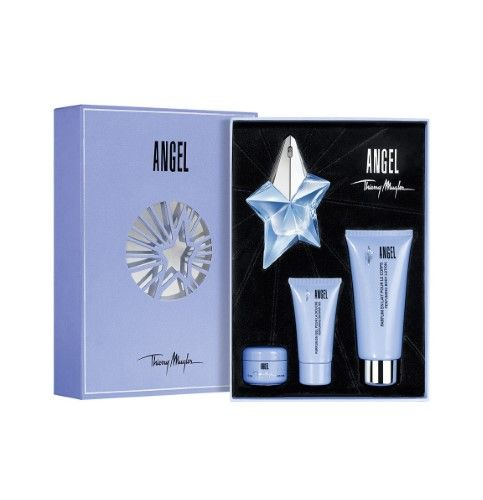 Gift Mugler Piece SetBrownProducts Angel Thierry 4 CrdBeWxo
