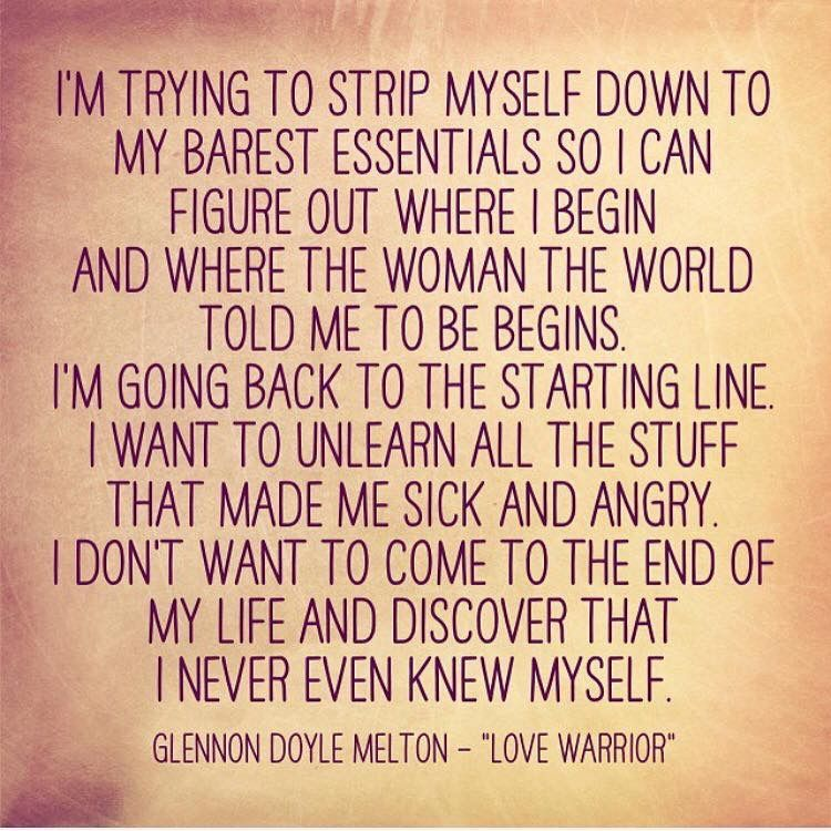 Glennon Doyle Melton Quotes Captivating Peeling Back The Layers Bamf I'm A  Pinterest  Layering