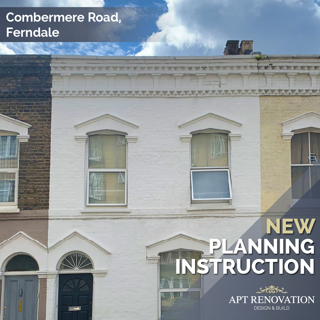 New planning instruction on Combermere Road - Ferndale. The client has appointed APT Renovation LTD for a rear side/infill kitchen extension, first floor extension and loft conversion.  #london #houseextension #planning #investment #renovation #design #propertydevelopment #interiordesigner #Kitchen #interiordecor #london #builders #londonproperty #planningpermission #aptrenovation