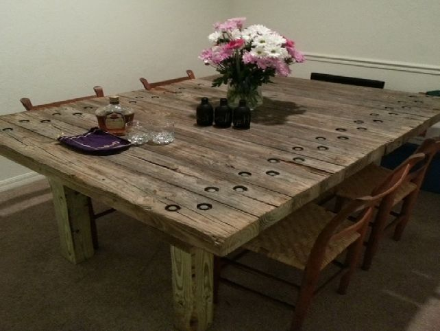 dining room tables reclaimed wood | design ideas 2017-2018 ...