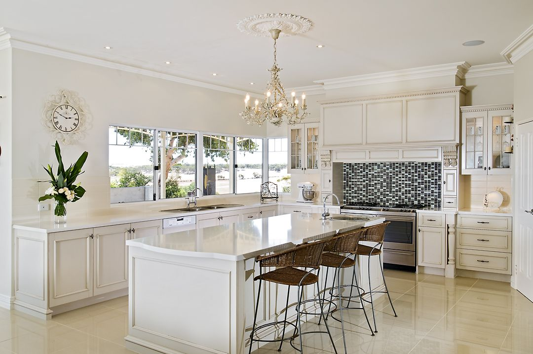 Modern French Country Kitchen farmers - hand crafted kitchens - french country classic style