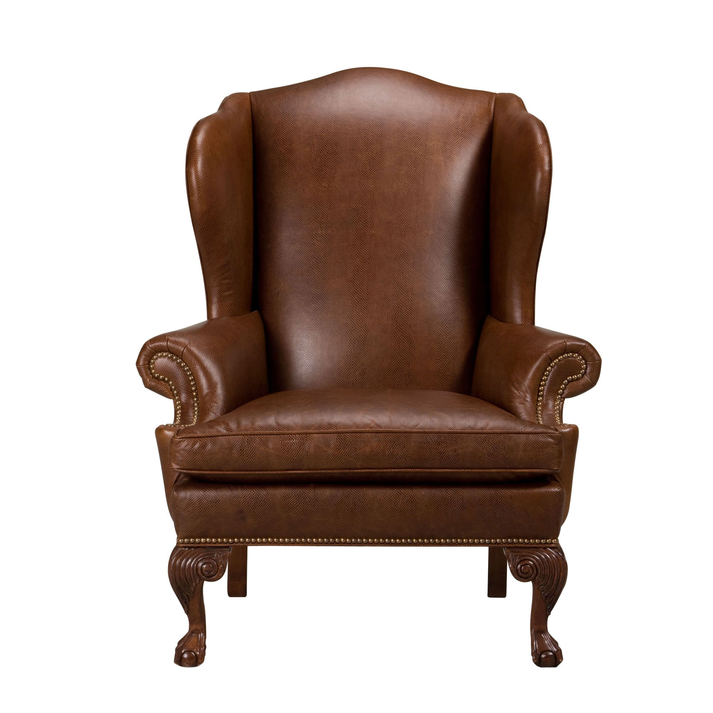 Leather · Giles Leather Chair   Ethan Allen US