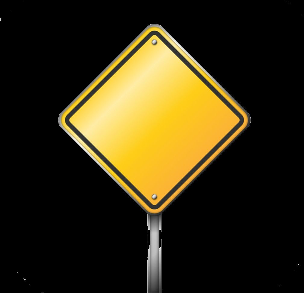 Blank Road Sign Clipart Free Clip Art White Background Images Road Signs
