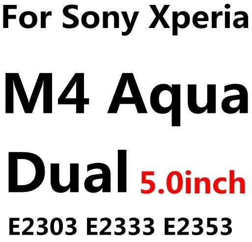 0.26mm 9H Tempered Glass For Sony Xperia Z L36H Z1 Z2 Z3