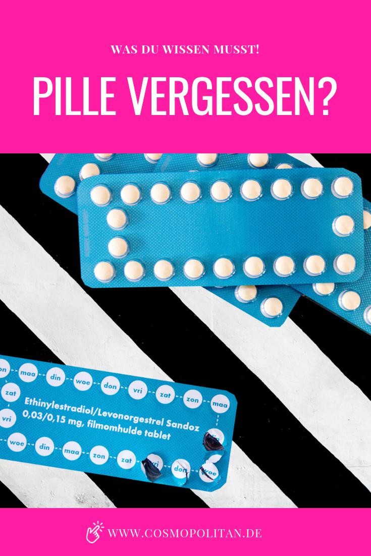 Mehrere pillen vergessen