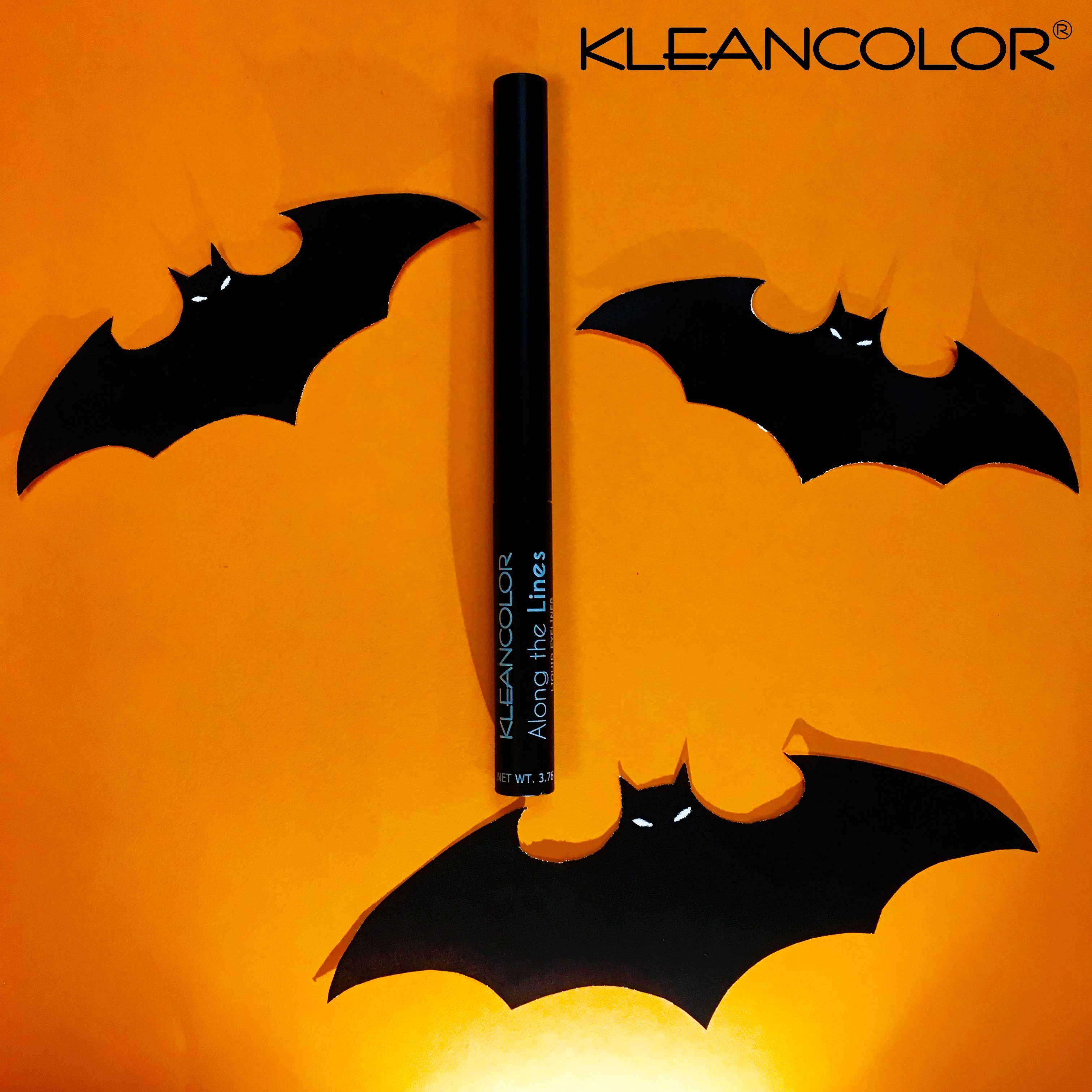 Bat Your Eyes This Weekend Wearing Waterproof Along The Lines Liquid Eyeliner In Matte Black Le741 Kleancolor Alongthelines Liquideyeliner