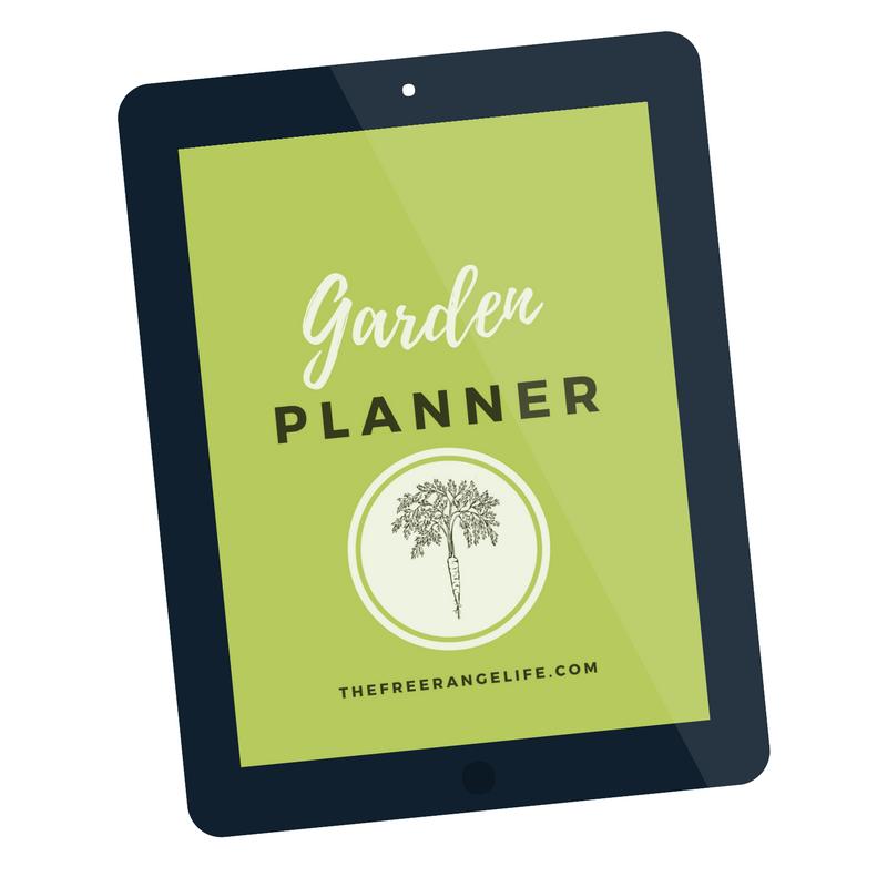 The Free Range Life Yearly Garden Planner | Garden planner ...