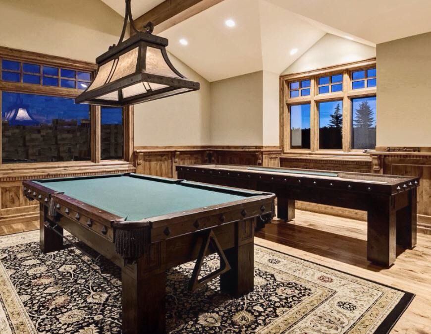 AMERICAN PRAIRIE COLLECTION   Game Room Pool Table / Shuffleboard